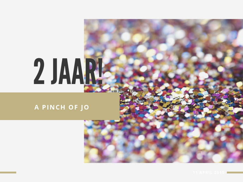 A Pinch of Jo 2 jaar