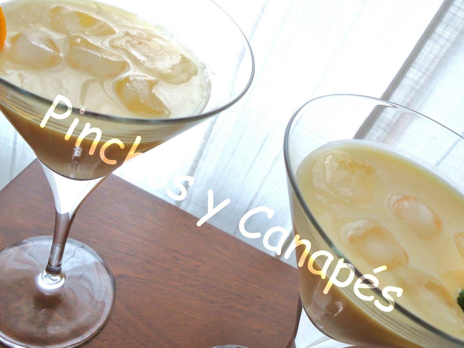 C ctel de naranja pinchos canap s for Canape para coctel