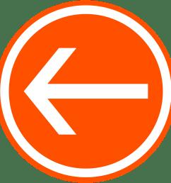 back button clip art at back button png orange transparent png 720x720  [ 1252 x 1253 Pixel ]