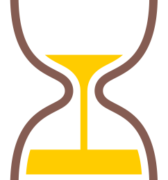 hourglass clipart yellow hourglass timer emoji png download 2000x2000 png download [ 1439 x 1999 Pixel ]