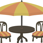 Cafe Coffee Tables Coffee Tables Bistro Garden Chair Clipart Png Download Full Size Clipart 264645 Pinclipart