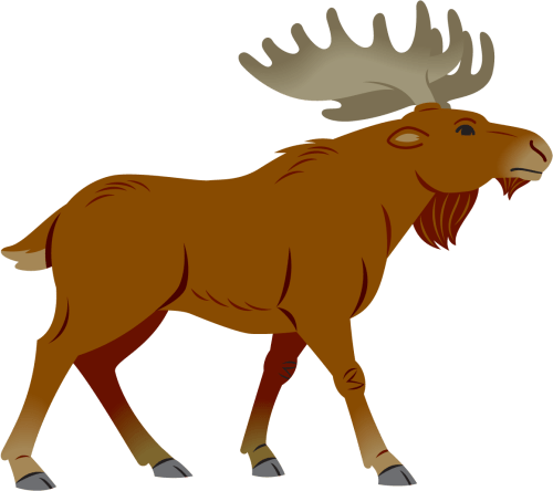 small resolution of moose clipart moose clipart simple cartoon simple moose cartoon png download