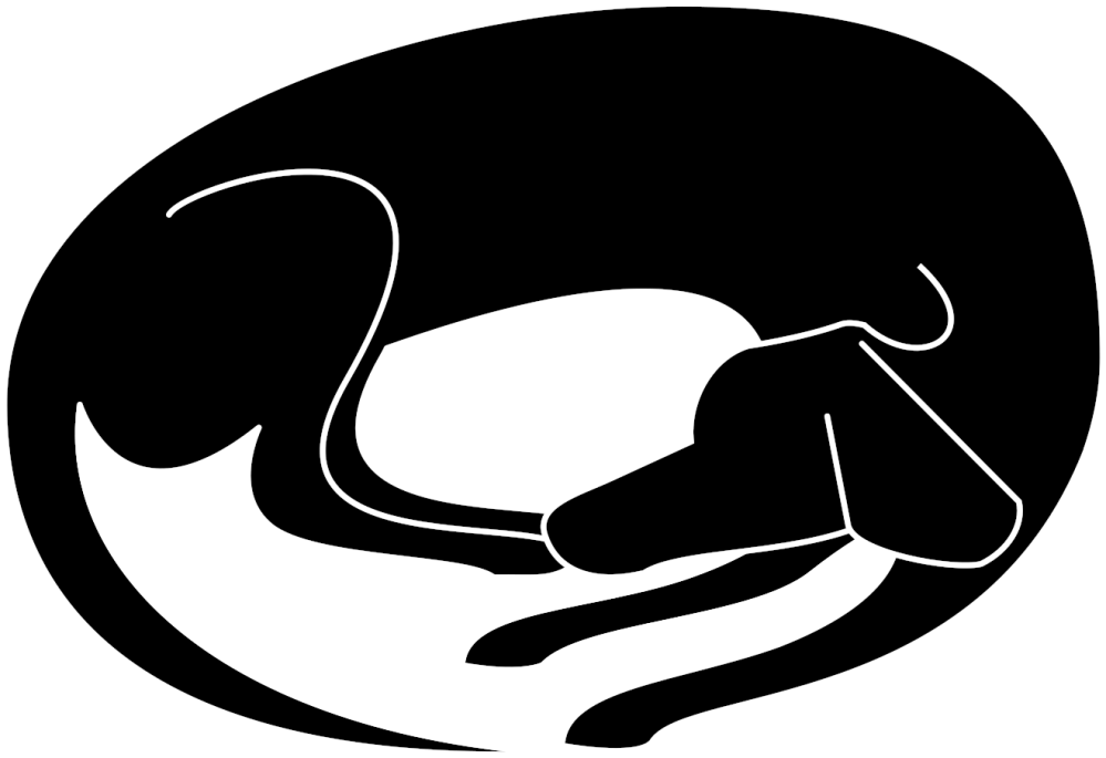 medium resolution of dog nap cliparts sleeping dog silhouette transparent png download 2400x2400 png