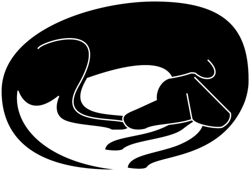 small resolution of dog nap cliparts sleeping dog silhouette transparent png download 2400x2400 png