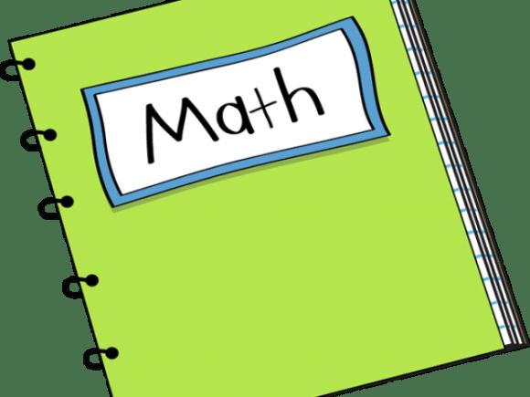 Notebook Clipart Homework Math Clip Art Transparent Png Download Full Size Clipart 3670317 Pinclipart
