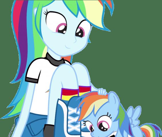 Original Rainbow Dash Da Equestria Girls Clipart Full Size Clipart 3790557 Pinclipart