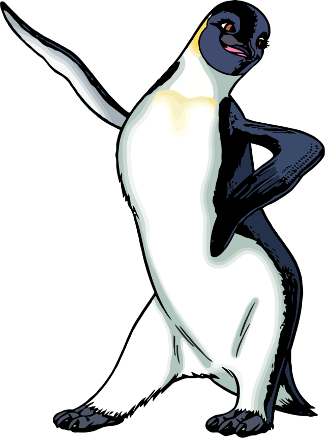 Happy Feet Girl Clipart Png - Happy Feet Coloring Pages