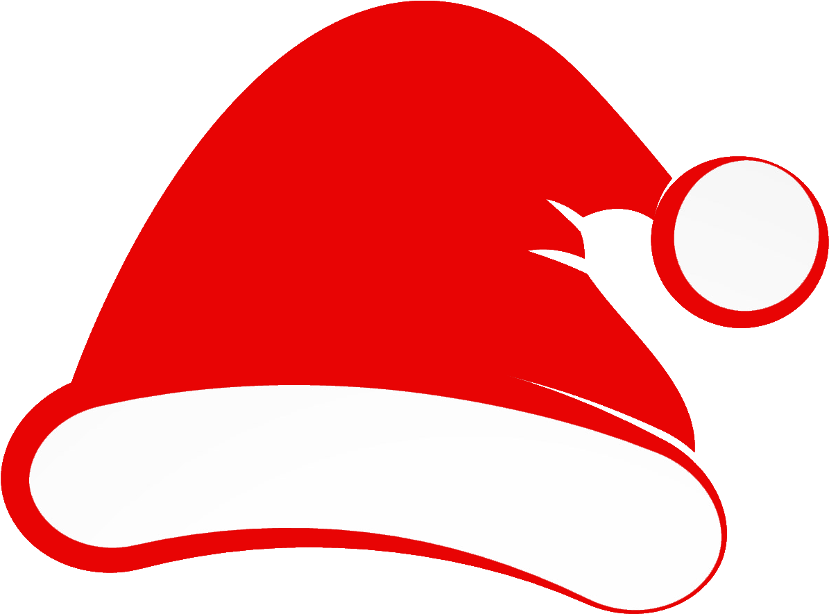 Christmas Santa Hat Clip Art Christmas Santa Hat Clip