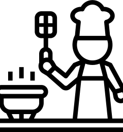 eat healthy clip art menus you design hobbies icon cooking clipart [ 2005 x 1969 Pixel ]