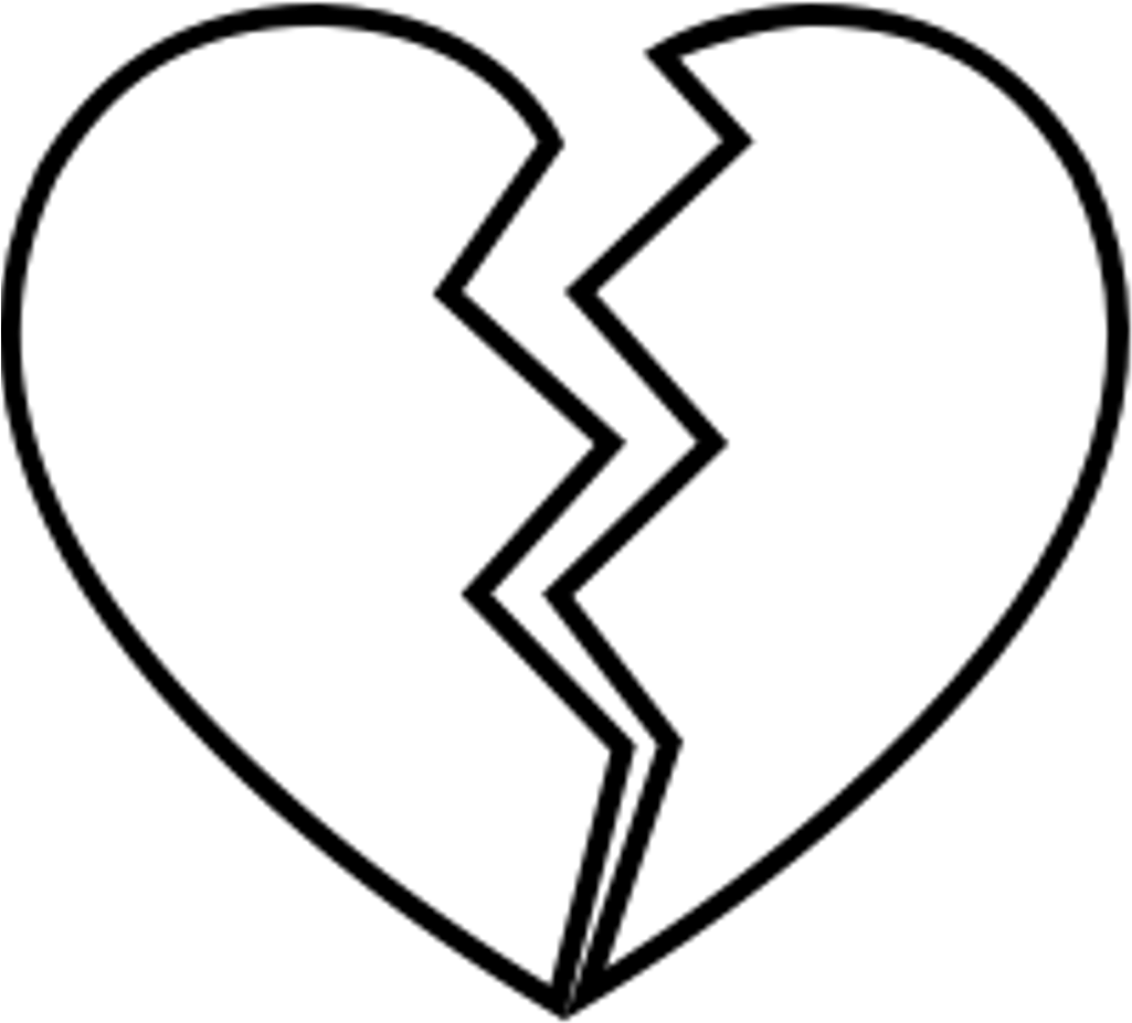 Brokenheart Sad Broken Brakeup Depressed Depression