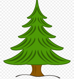 pine tree clipart free clipart images christmas pine tree clip art png download [ 880 x 1120 Pixel ]