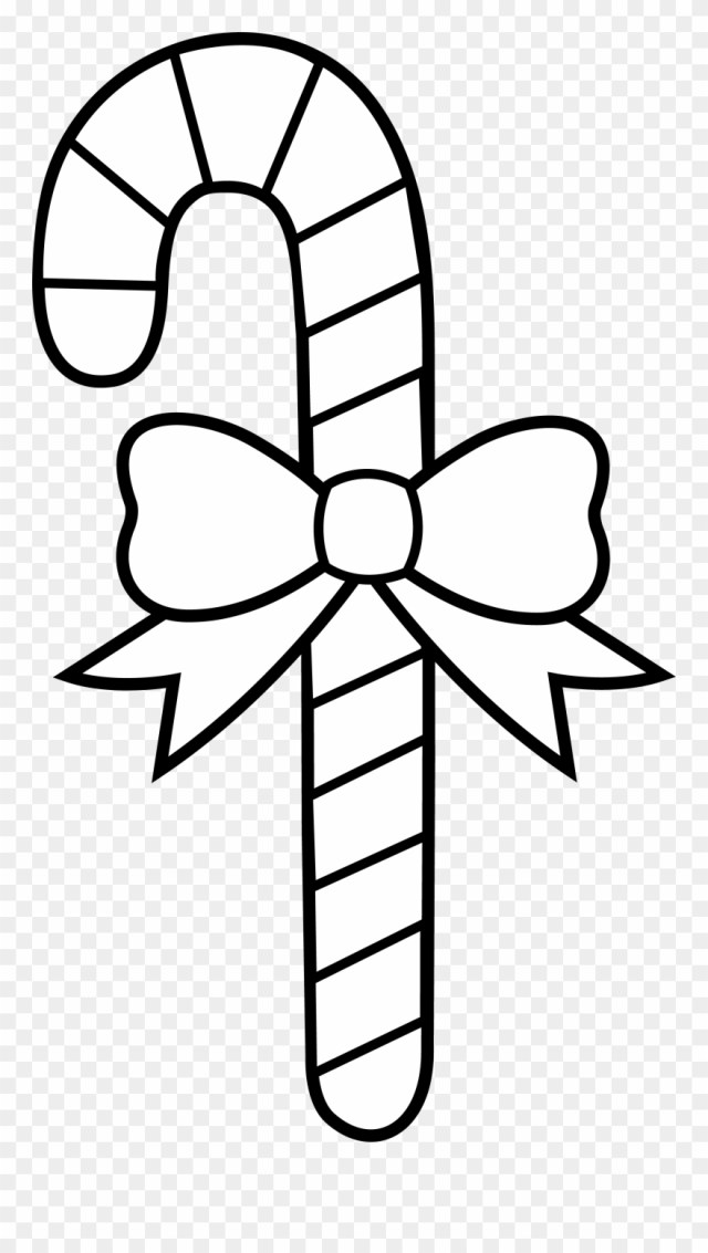 Candy Cane Coloring Pages Christmas Candy Cane Coloring - Candy