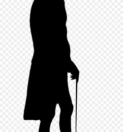 silhouette man old transparent silhouette man clipart [ 880 x 1663 Pixel ]