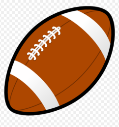 football animated clip art football clipart png download [ 880 x 913 Pixel ]