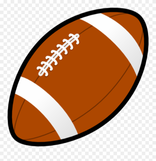 small resolution of football animated clip art football clipart png download