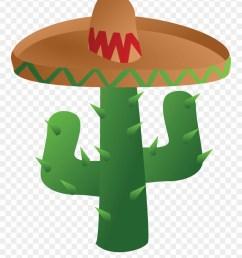 free clipart of a mexican cactus wearing a sombrero cinco de mayo png transparent png [ 880 x 1086 Pixel ]