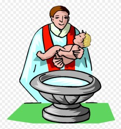 baptism clip art free baby getting baptized clipart png download [ 880 x 928 Pixel ]