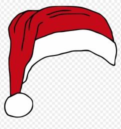 santas hat hat vector royalty free clipart christmas transparent christmas hat vector png [ 880 x 911 Pixel ]