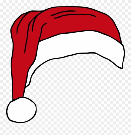 small resolution of santas hat hat vector royalty free clipart christmas transparent christmas hat vector png