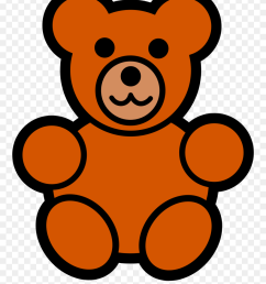 teddy bear clipart free clipart images easy cartoon teddy bear png download [ 880 x 1113 Pixel ]