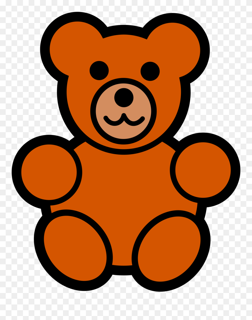 hight resolution of teddy bear clipart free clipart images easy cartoon teddy bear png download