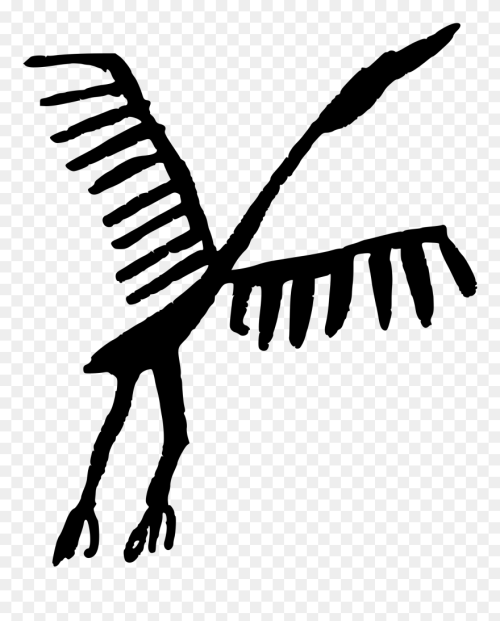 small resolution of free stork clipart cave drawings clip art png download