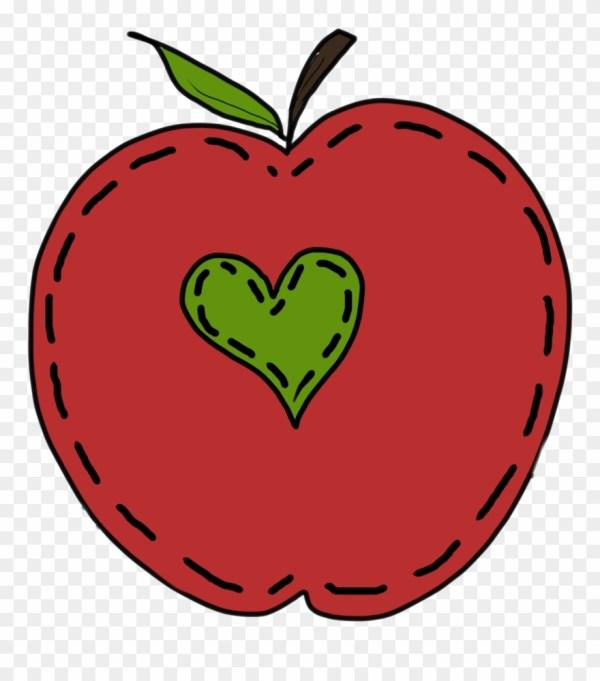End Of Summer School Clip Art - Teacher Heart