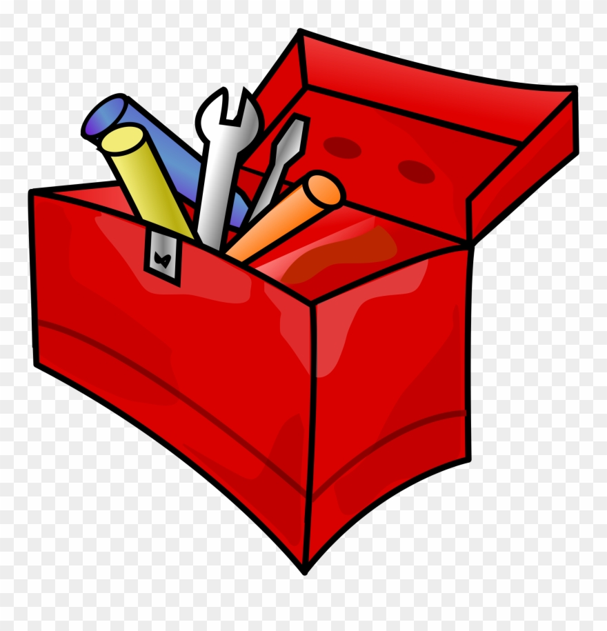 hight resolution of miscellaneous tool box clipart
