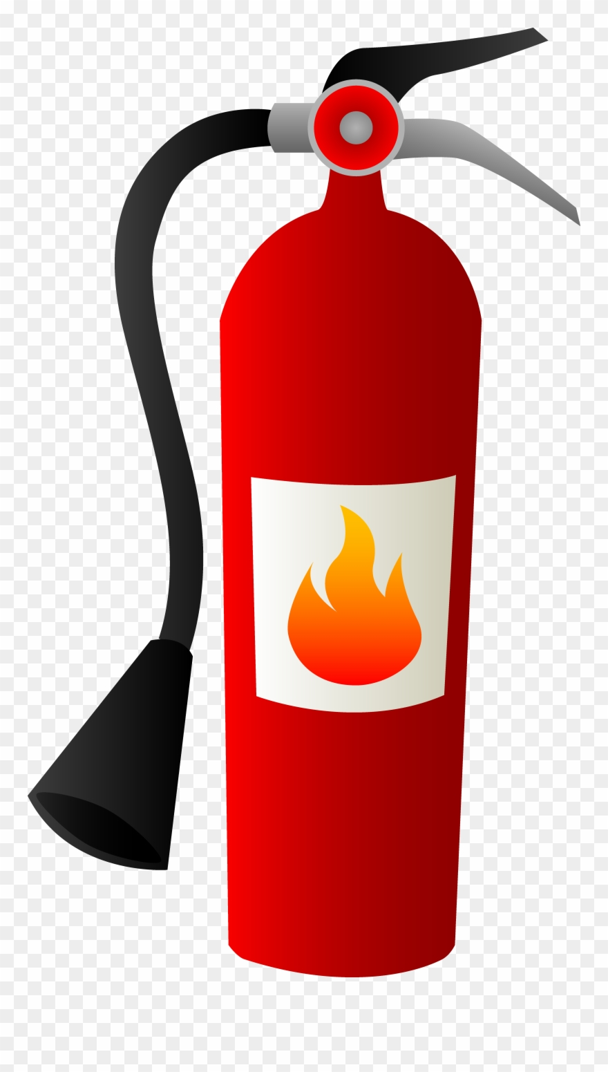 hight resolution of kitchen fire safety clip art fire extinguisher clipart png download