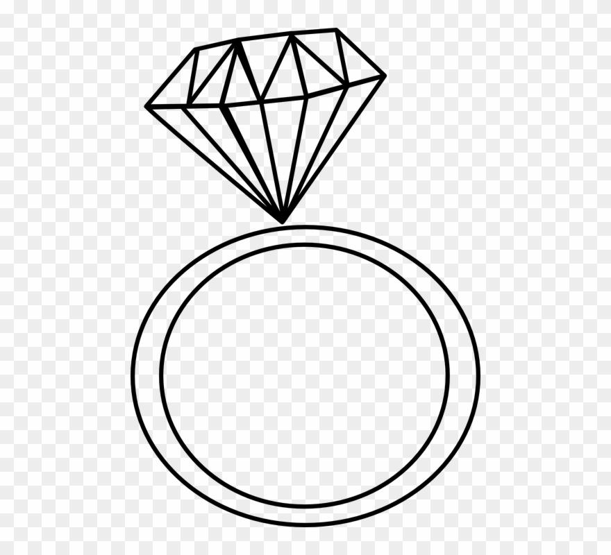claddagh ring clipart diamond