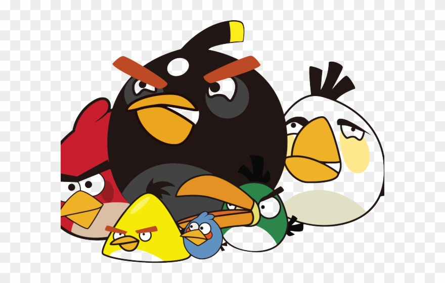 angry bird clipart imagens