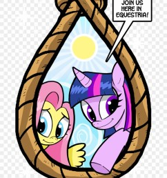 fb chris insists he isn t delusional my little pony noose clipart [ 880 x 1145 Pixel ]