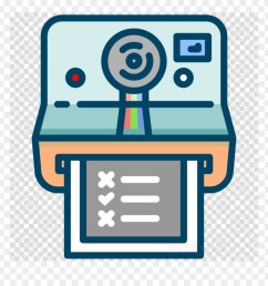 instant camera clipart instant camera polaroid sx 70 polaroid icon transparent background png [ 880 x 920 Pixel ]