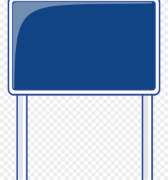 blank highway sign bing images traffic street road blank blue road signs clipart [ 880 x 1180 Pixel ]