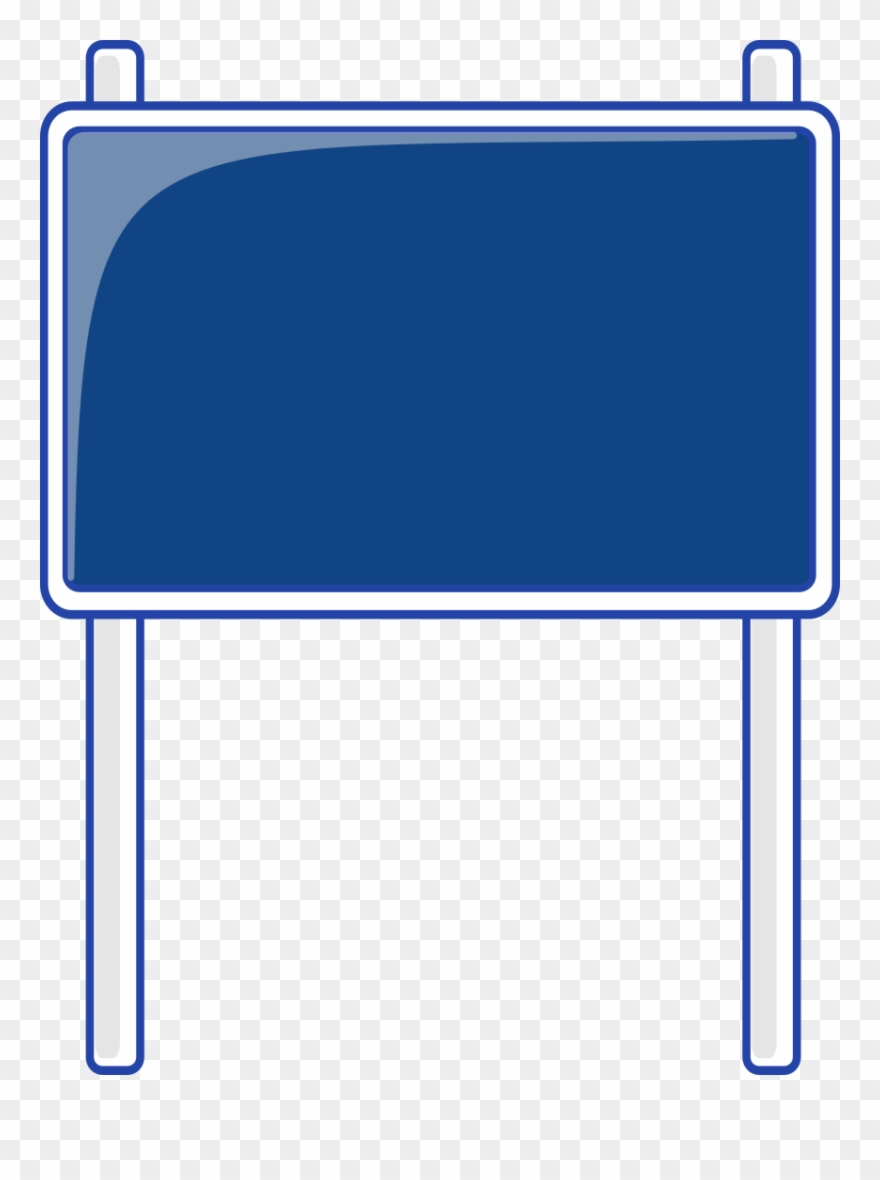 hight resolution of blank highway sign bing images traffic street road blank blue road signs clipart