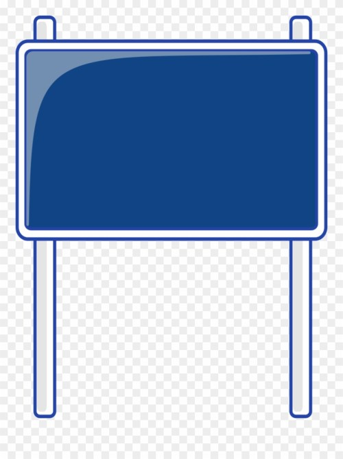 small resolution of blank highway sign bing images traffic street road blank blue road signs clipart