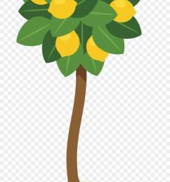 lemon tree clipart farm lemon tree clipart png download [ 880 x 1556 Pixel ]