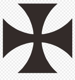 maltese cross cruz de malta maltese cross vector free knights templar clipart [ 880 x 920 Pixel ]