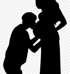 pregnancy wife kiss woman pregnant couple silhouette png clipart [ 880 x 1304 Pixel ]