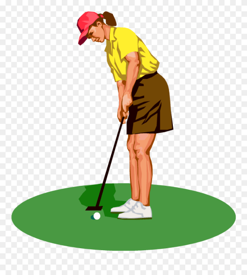 small resolution of golf tee silhouette at getdrawings lady golfer clipart