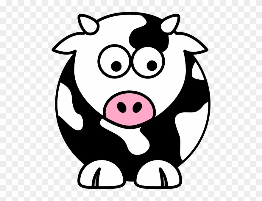 Black Cow Clip Art Clip Art Cow Png Download 116699 Pinclipart