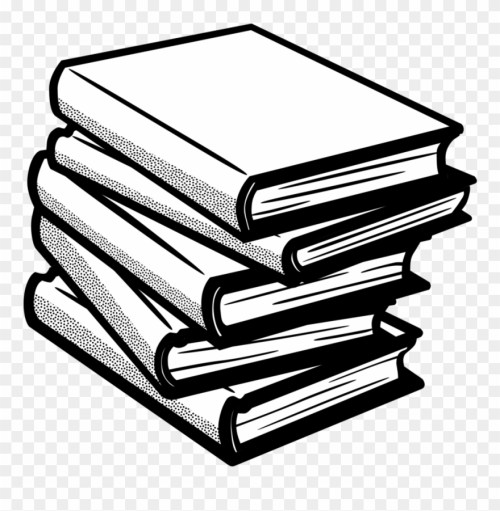 small resolution of clip art with books 4 clipart of book black and white books clip art