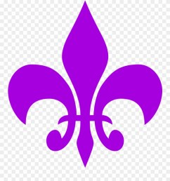need for speed clipart symbol fleur de lis clipart free purple png download [ 880 x 1019 Pixel ]