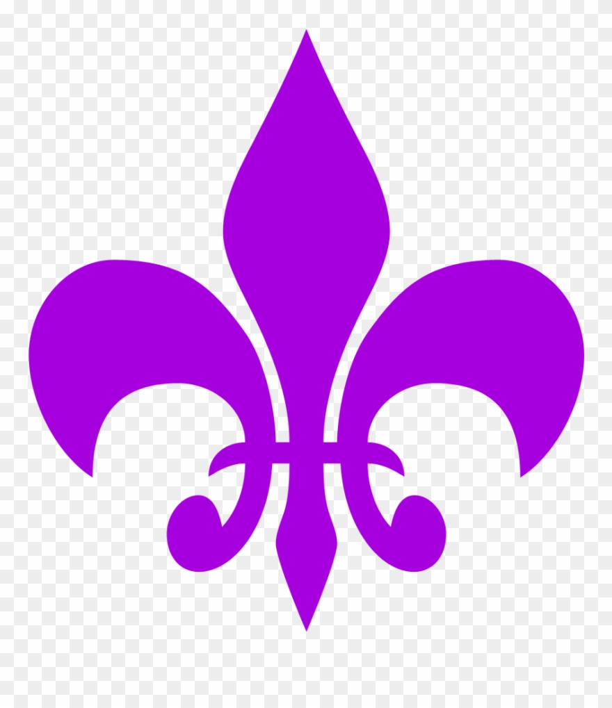 hight resolution of need for speed clipart symbol fleur de lis clipart free purple png download