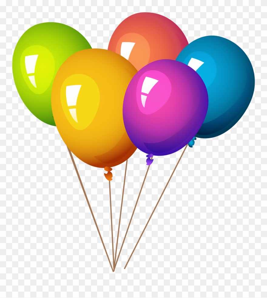 hight resolution of pngpix com colorful balloons png image balloons and party poppers clipart