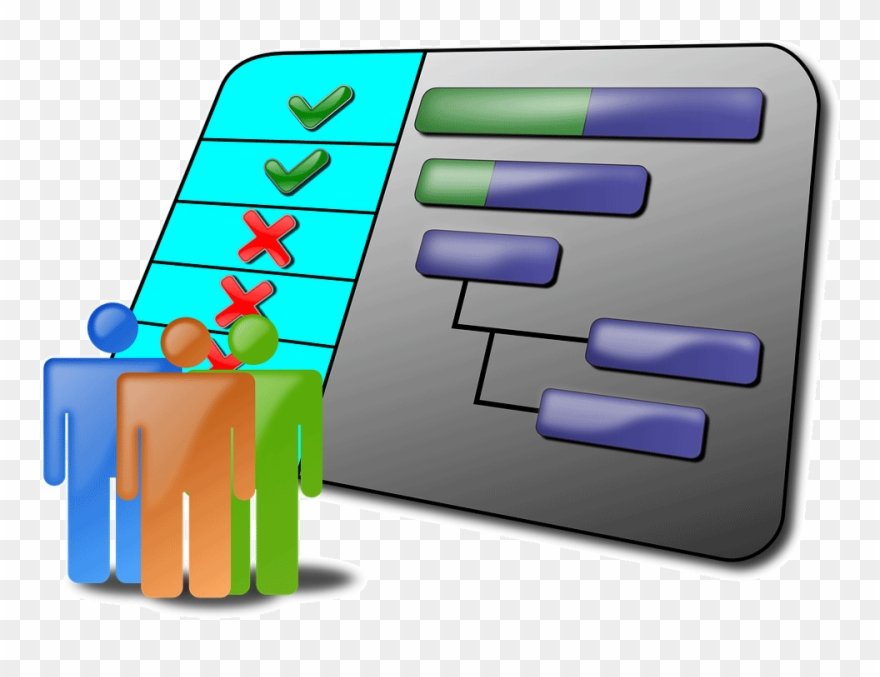 It uses the tools of powerpoint to create a chart using tables, colors and animation that explains the progress of the project with ease. Create Effective Gantt Chart For A Project Project Schedule Clipart 1168396 Pinclipart
