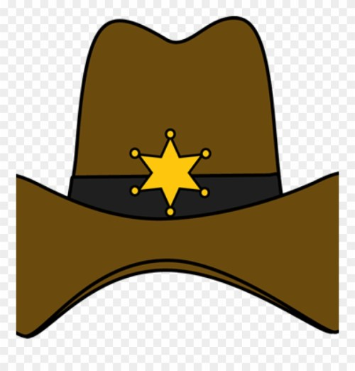 small resolution of cowboy clipart brown hat cowboy hat photo booth png download