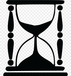 free clipart of an hourglass hourglass silhouette png download [ 880 x 1166 Pixel ]