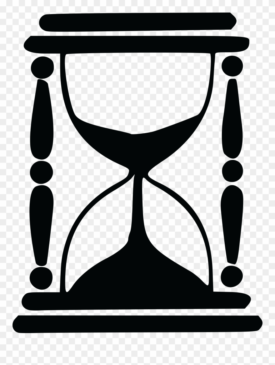 hight resolution of free clipart of an hourglass hourglass silhouette png download