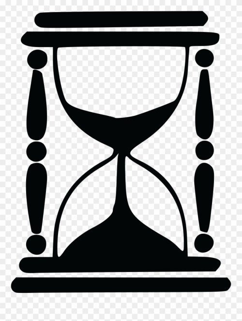 small resolution of free clipart of an hourglass hourglass silhouette png download